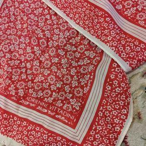 Vintage Adrienne Vittadini 100% silk scarf